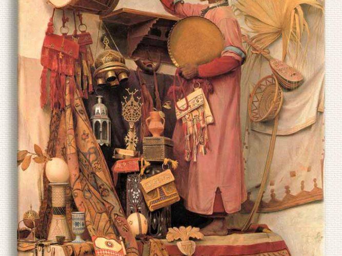 Jean Discart Antikacı Dükkanı tablosu
