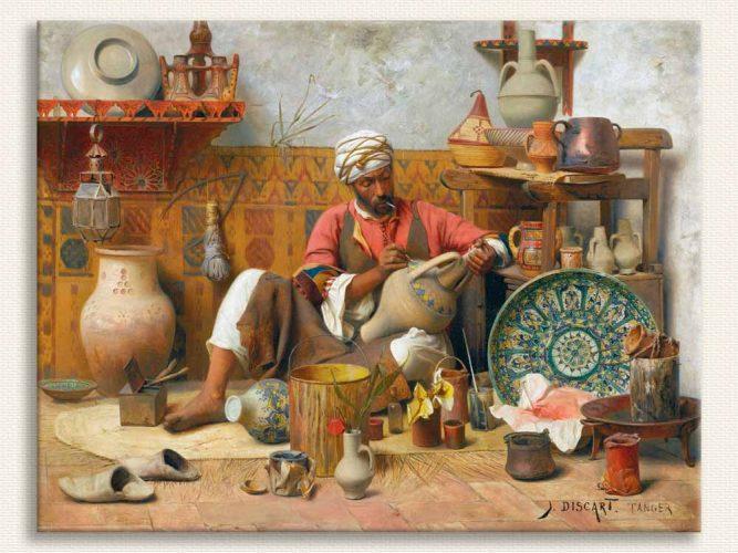 Jean Discart Seramik Ressamı