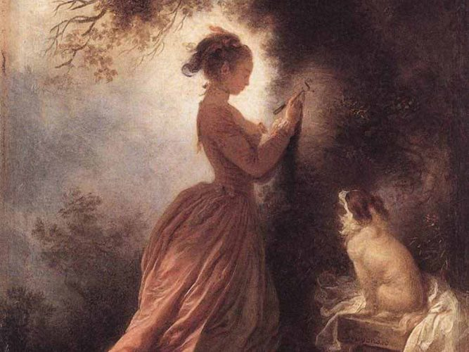 Jean Honore Fragonard Hediye