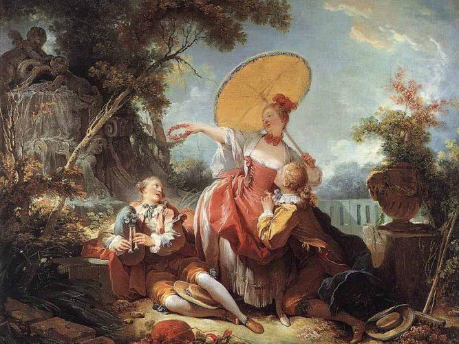 Jean Honore Fragonard Müzik Yarışması