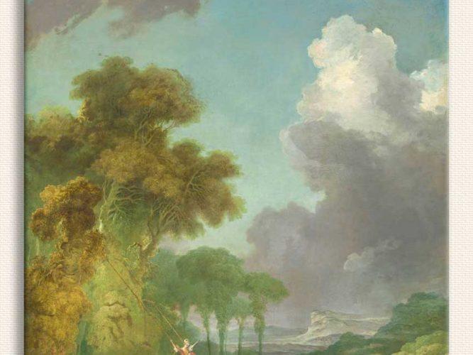 Jean Honore Fragonard Salıncak