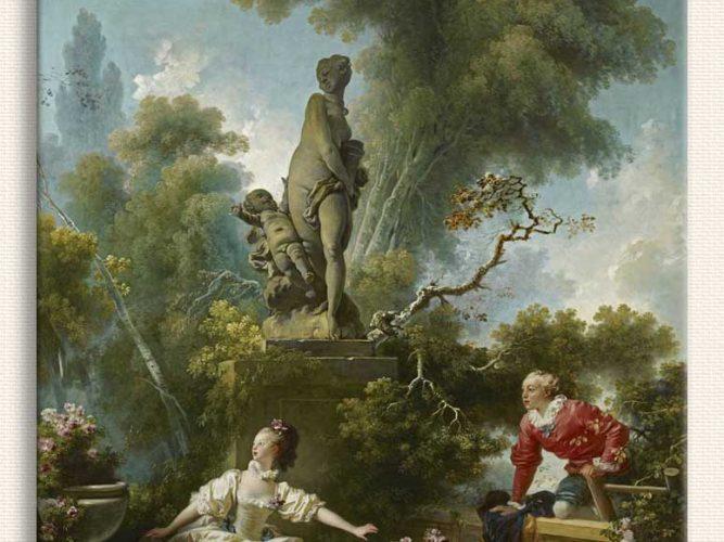 Jean Honore Fragonard Aşka Doğru