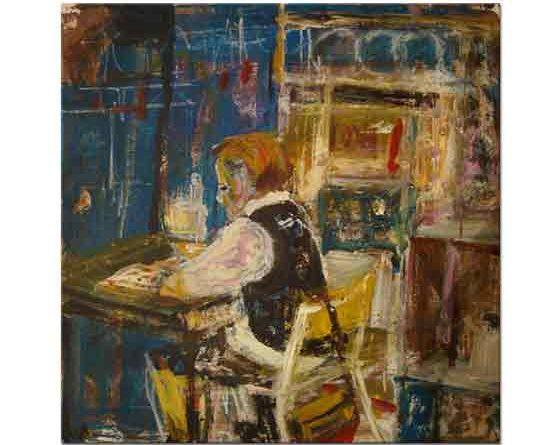 Joan Eardley, Kitap Okuma