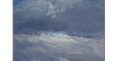 Johan Christian Dahl Dresden'de Bulutlar