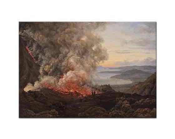 Johan Christian Dahl Yanardağ Patlaması