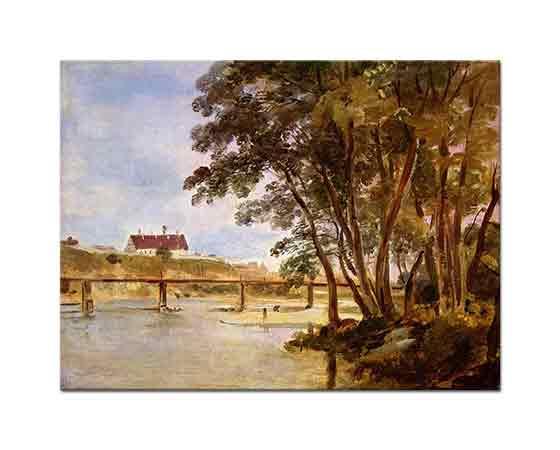 Johann Georg von Dillis Prater Adasından