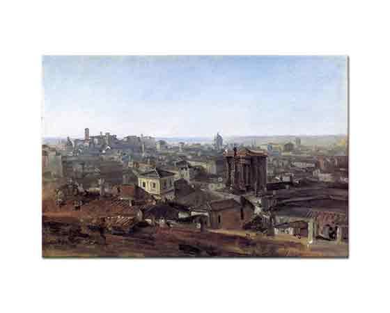 Johann Georg von Dillis Roma Capitoline Tepesine Bakış