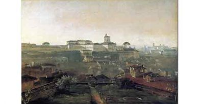 Johann Georg von Dillis Roma Quirinale Tepesine Bakış