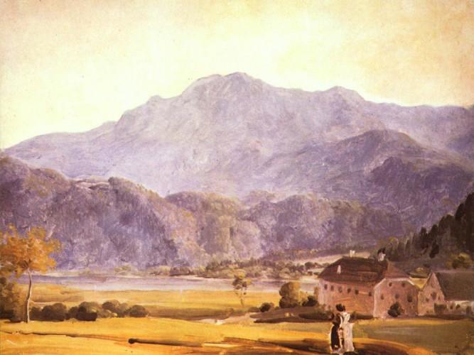 Johann Georg von Dillis Manzara