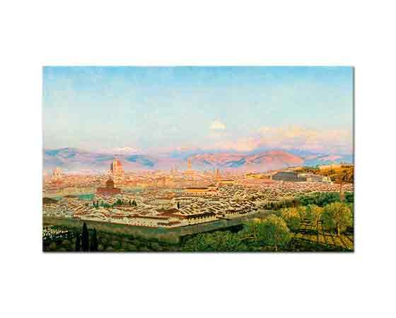 John Brett Bellosguardo'dan Floransa'ya Bakış