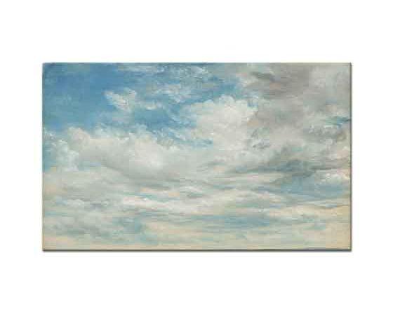 John Constable Bulutlar ve Hareket etüd
