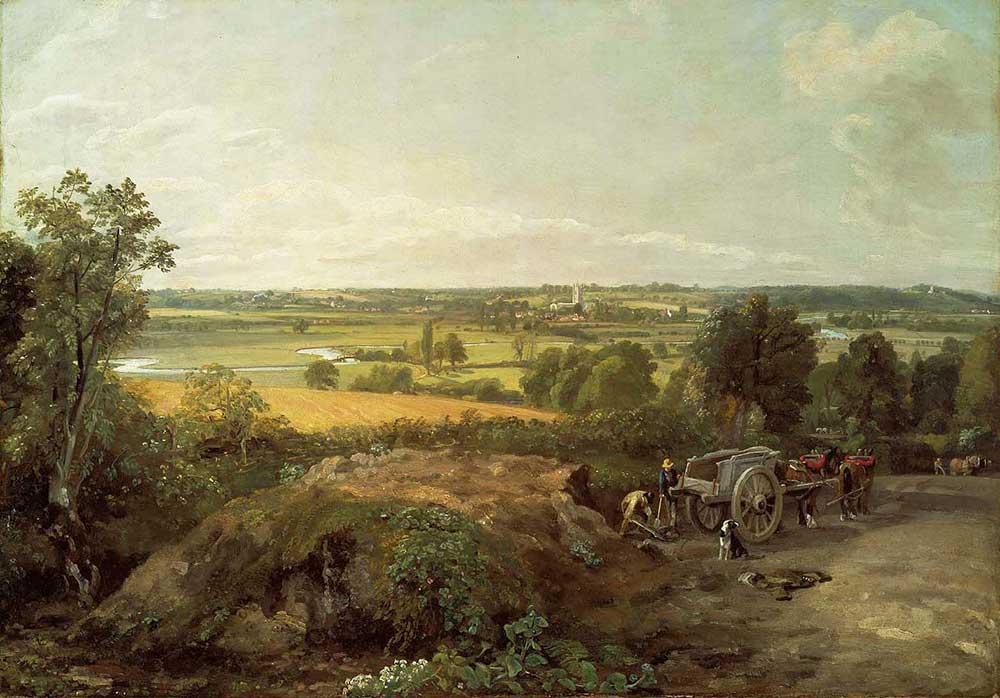 John Constable Dedham Kilisesi