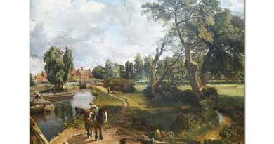 John Constable Flatford Değirmeni