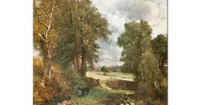 John Constable Mısır Tarlası ve Ağaçlar
