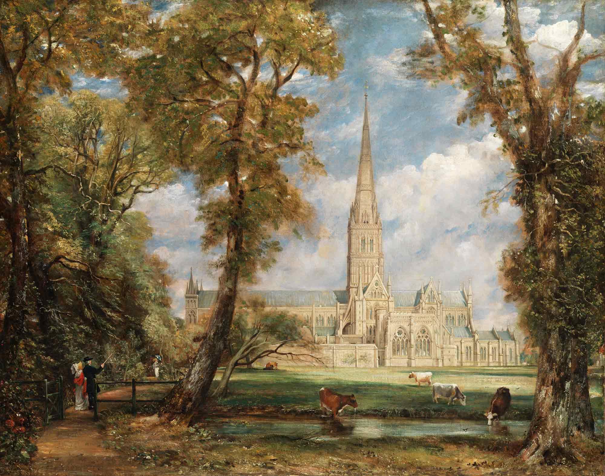 John Constable Salisbury Katedrali