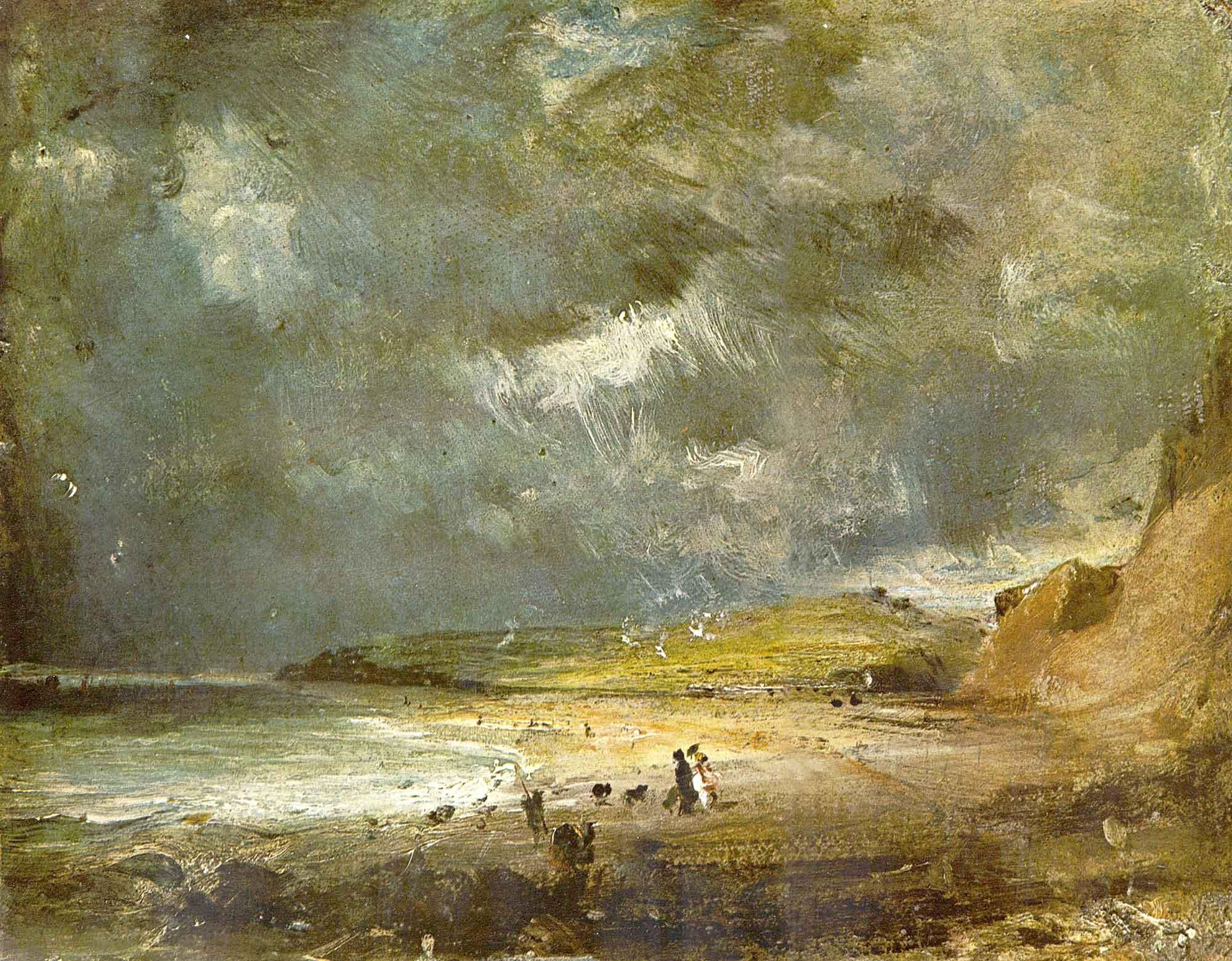 John Constable Weymouth Körfezi