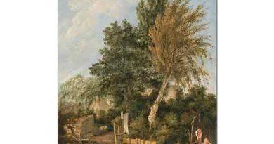 John Crome Wensum Nehri Yıkanan Çocuklar