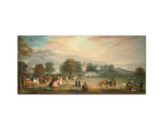 John Ferneley Bradgate Park Leicestershire'da Okçular Günü