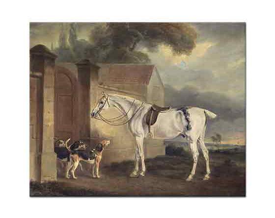 John Ferneley Cottesmore'un Atı Köpekleri ile
