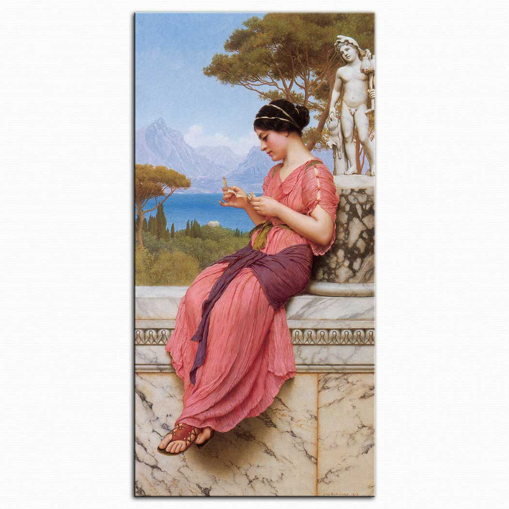John William Godward Aşk Mektubu