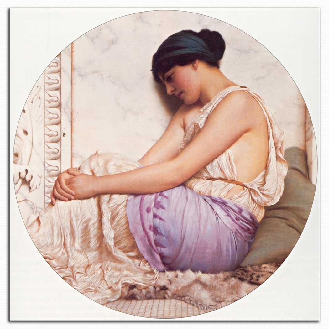 John William Godward Grek Kızı