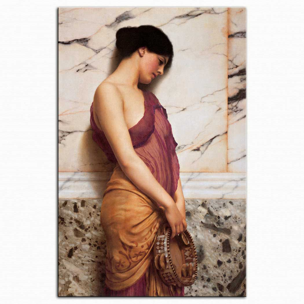 John William Godward Tefçi Kız