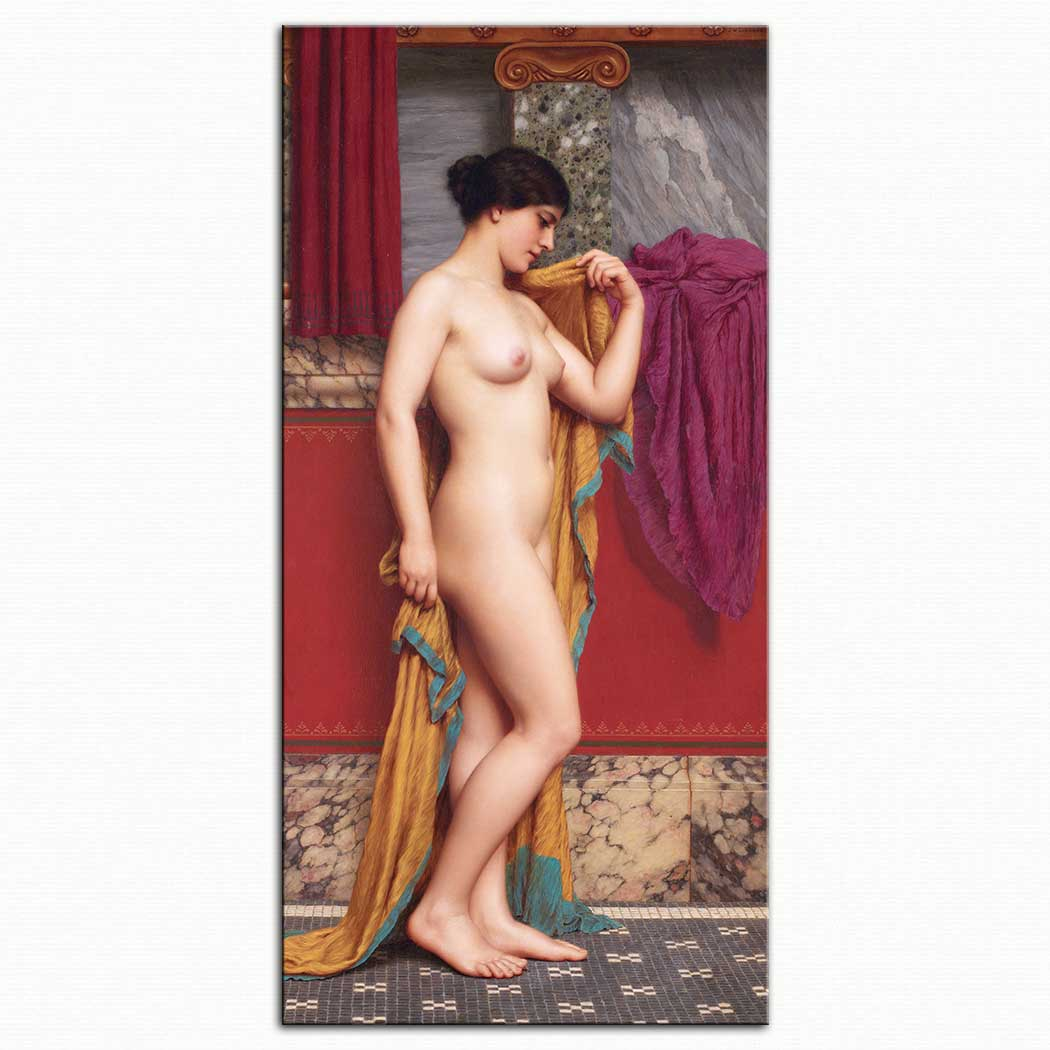 John William Godward Tepidaryumda