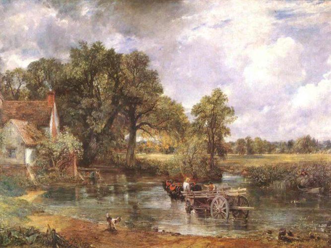 John Constable Yük Arabası