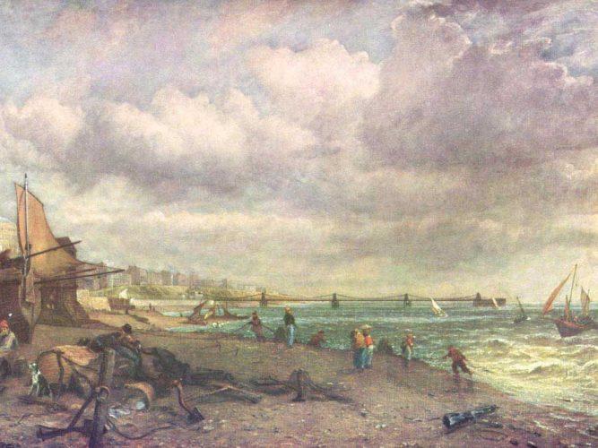 John Constable Brighton Köprüsü