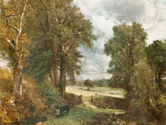 John Constable Mısır Tarlası