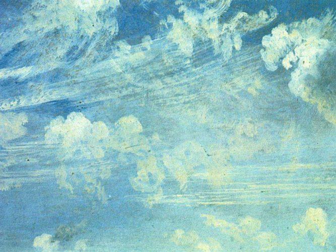 John Constable Zirrus Bulutları