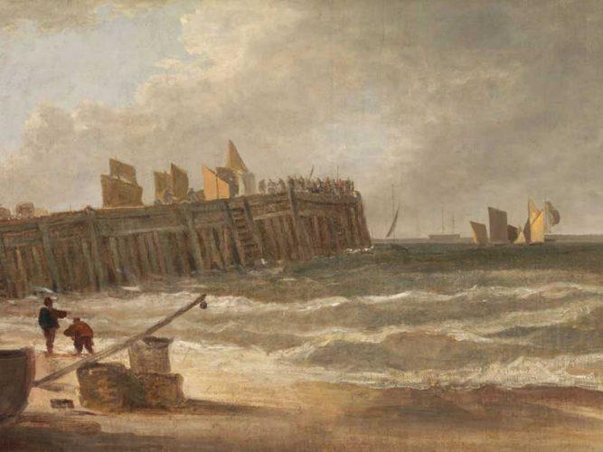John Crome Yarmouth iskelesi