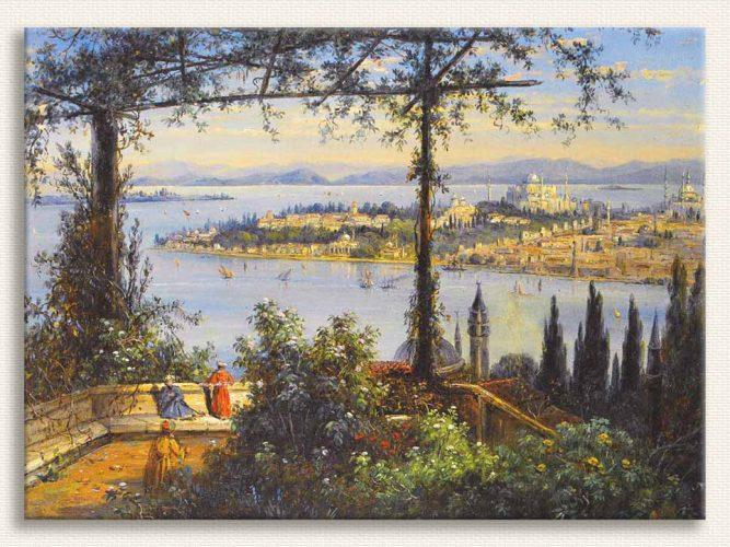John Daniell Istanbul'a Bakış