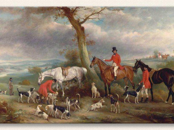 John Ferneley Thomas Wilkinson Tilki Avında