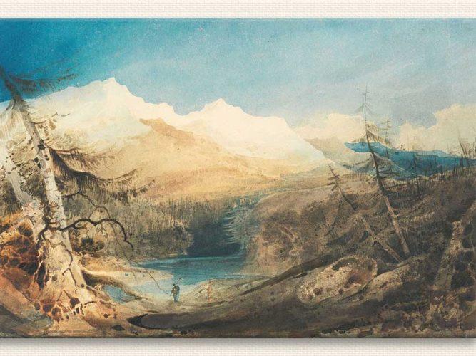 John Sell Cotman Dağ Peyzajı