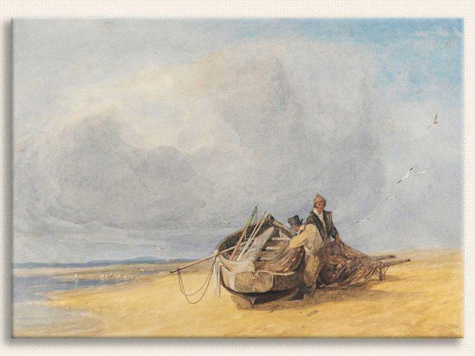 John Sell Cotman Yarmouth Sahili Norfolk