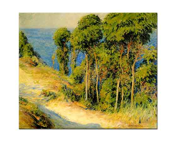 Joseph Rodefer DeCamp Sahil Boyunca Ağaçlar