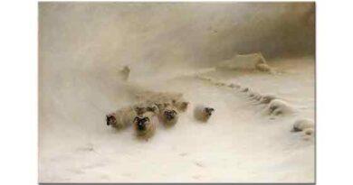 Joseph Farquharson Kar Fırtınası