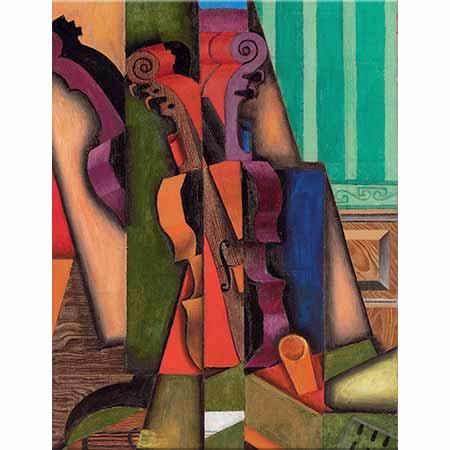 Juan Gris Keman ve Gitarlı Kompozisyon