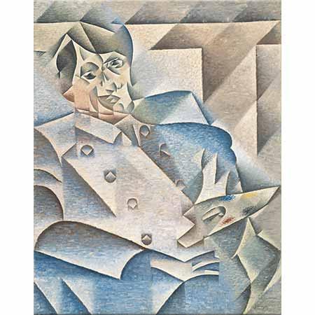 Juan Gris Picasso'nun Portresi