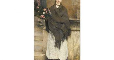 Jules Bastien Lepage Londra'da Çiçekçi Kız