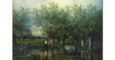 Jules Dupre, Balık Avı