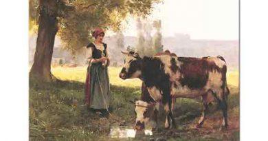 Julien Dupre, Çoban Kız