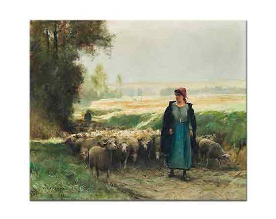 Julien Dupre, Çoban Kız Sürüsüyle