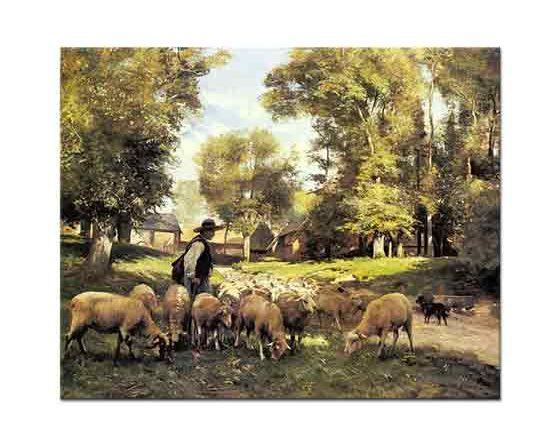 Julien Dupre, Çoban ve Sürüsü