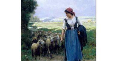 Julien Dupre, Genç Çoban