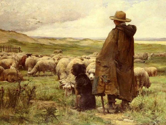 Julien Dupre Çoban tablosu