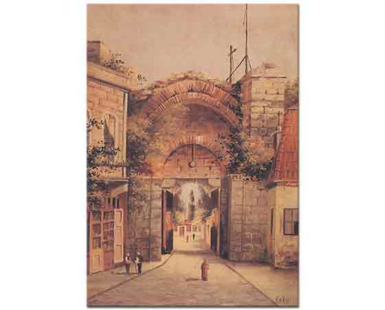 Kadri Aytolon Iznikte Bizans Kapısı