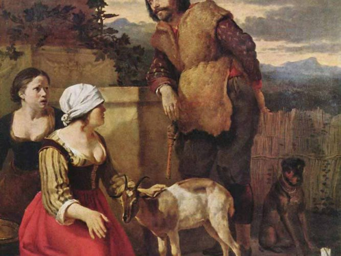 Karel Dujardin Hasta Keçi tablosu