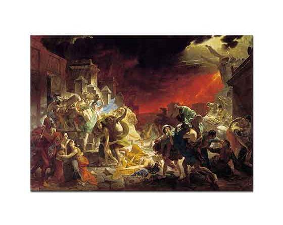 Karl Briullov Pompei'nin Son Günü